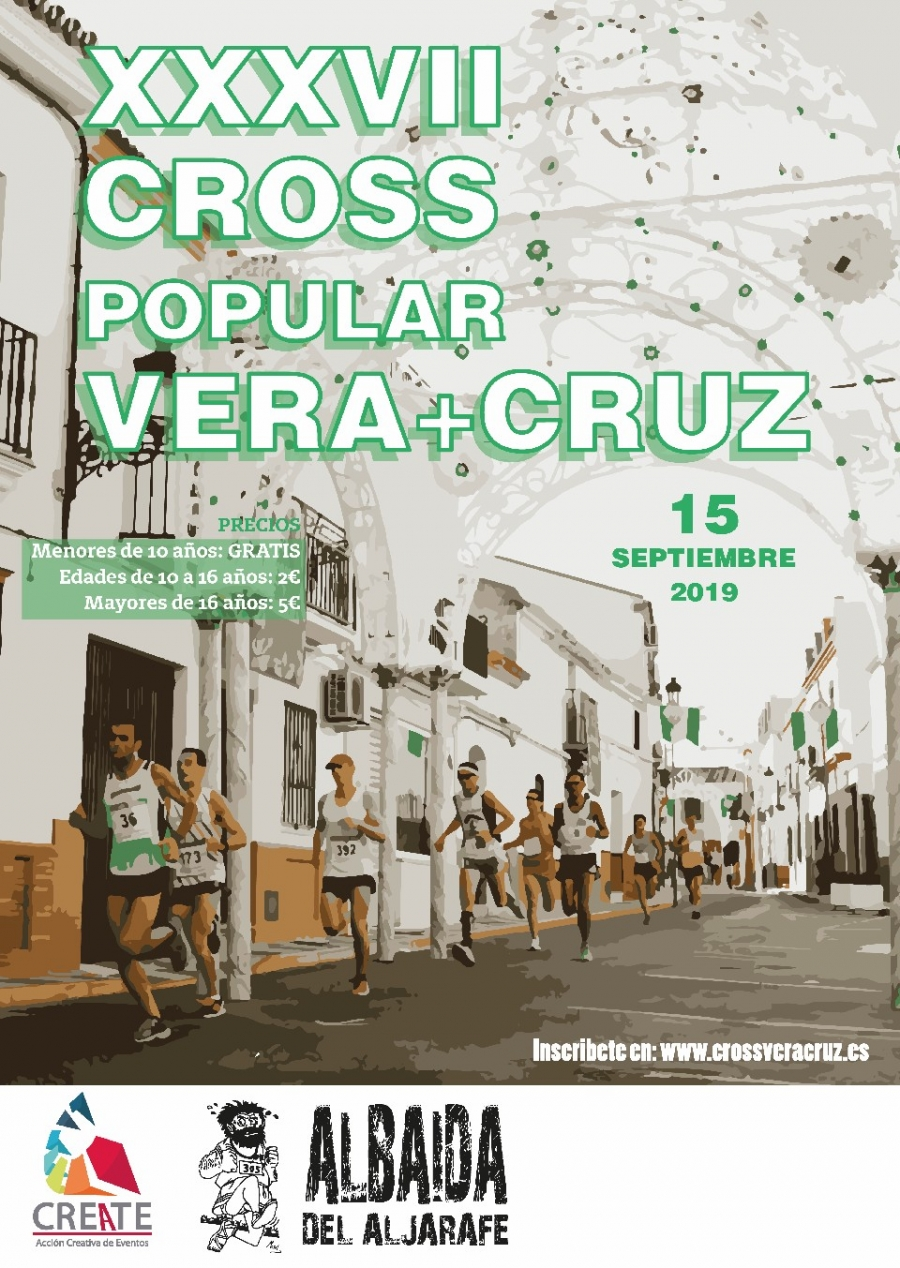 Abiertas inscripciones XXXVII Cross Popular Vera Cruz Albaida 2019